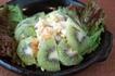 スイートポテトのフルーツサラダ