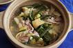 豚と白菜あんかけ鍋