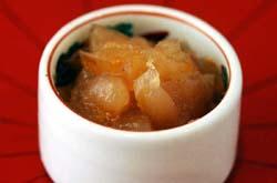 リンゴの甘煮