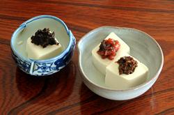 白豆腐の熱奴(あつやっこ)