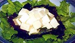豆腐と海草のサラダ