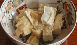 お豆腐とお揚げのたいたん(夫婦だき)