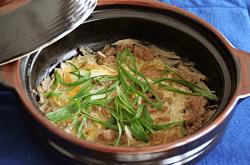 牛肉の柳川鍋