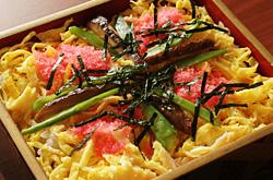ちらし寿司(ばらずし)