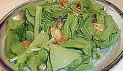 壬生菜のサラダ